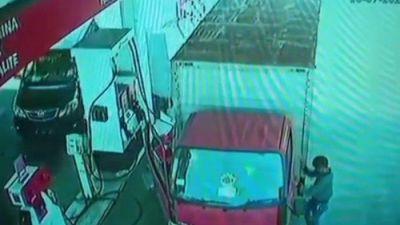 Pelaku Pencurian di SPBU Pondok Randu Terciduk Polisi